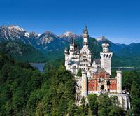 Замок Нойшвайнштайн. Германия.
